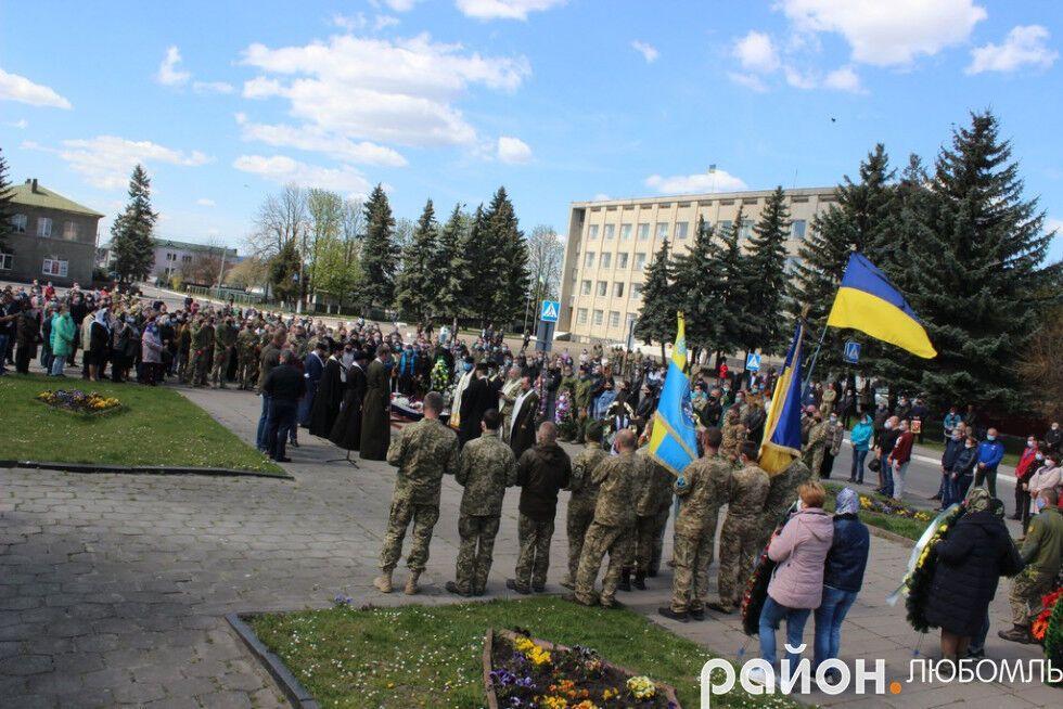 Похороны Андрея Шинкарука