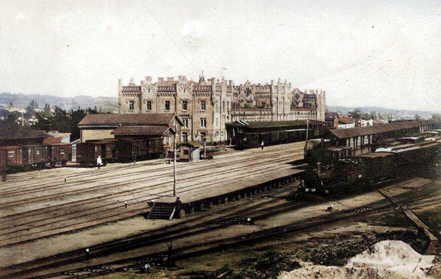 Старий вокзал в Києві