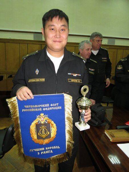 """Командир МРК """"Штиль"""" Владимир Дербетов"""