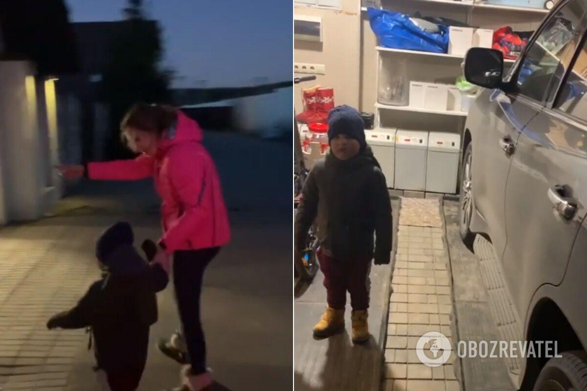 Єлизавета Шевиркова з сином