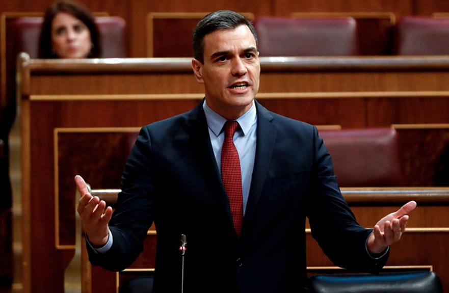 Педро Санчес в парламенте
