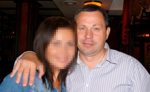 Ігор Єгоров з дочкою