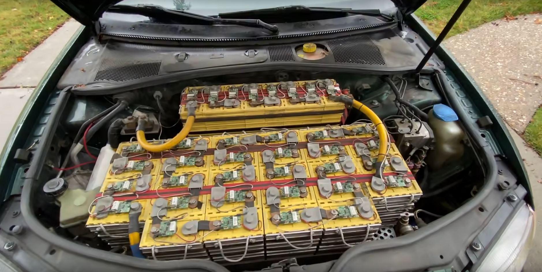 Электрический VW Passat B5