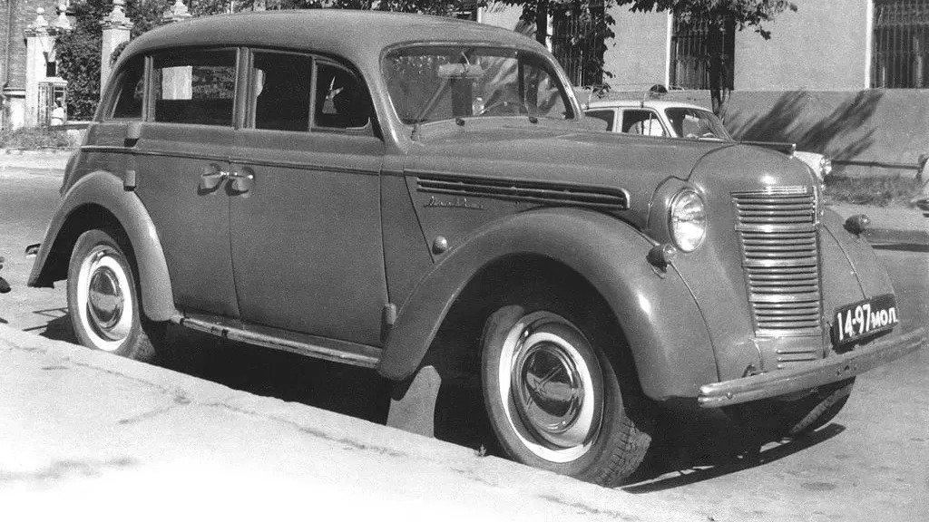 Москвич-401 (1954 – 1956)