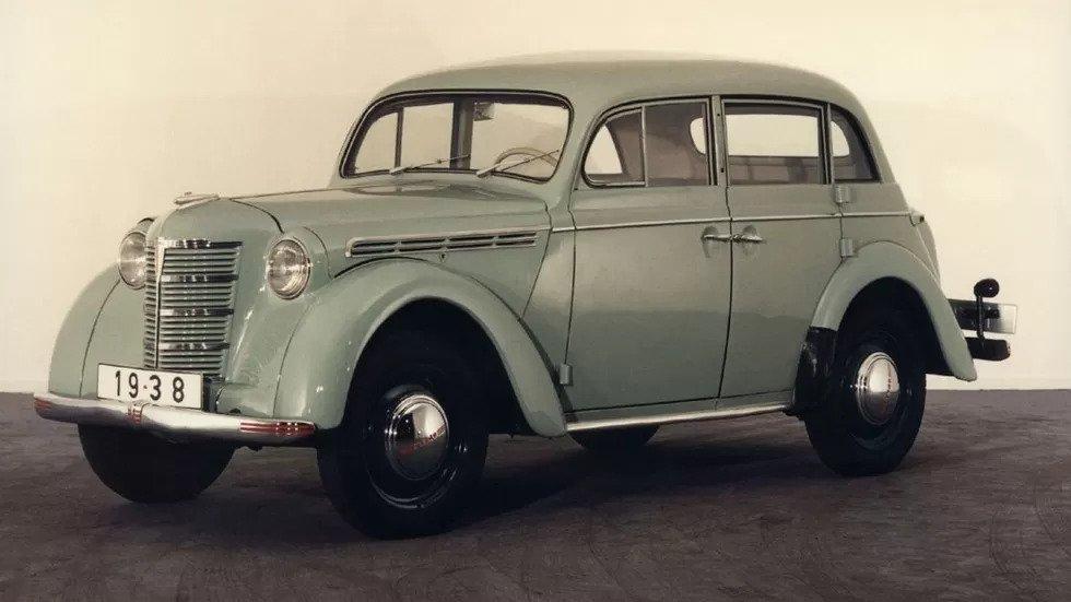 Opel Kadett 4-door K38 (1938 – 1940) - донор Москвича