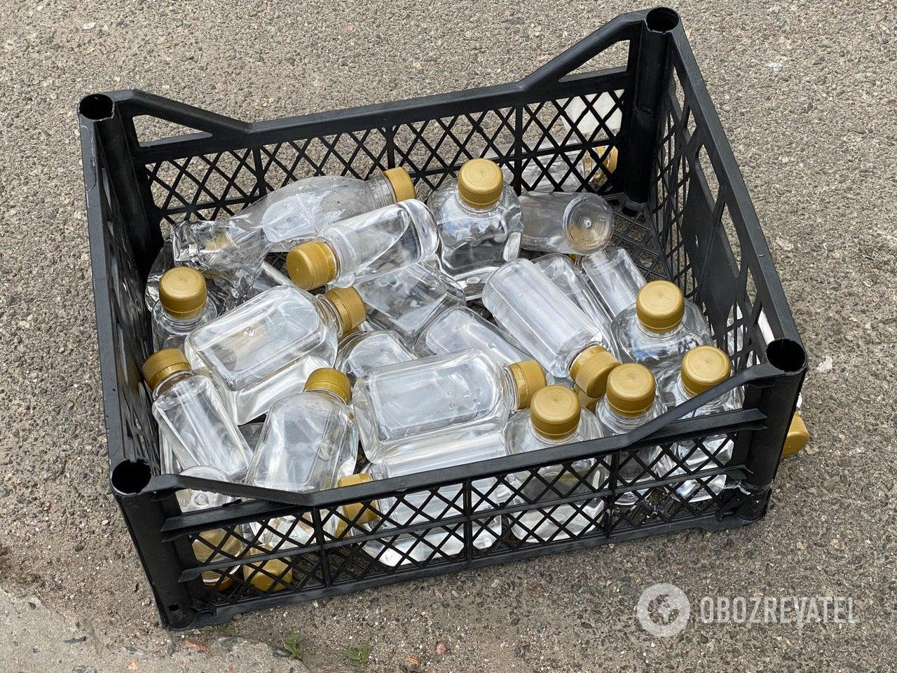 На Левобережной продуктовый магазин разливал алкоголь