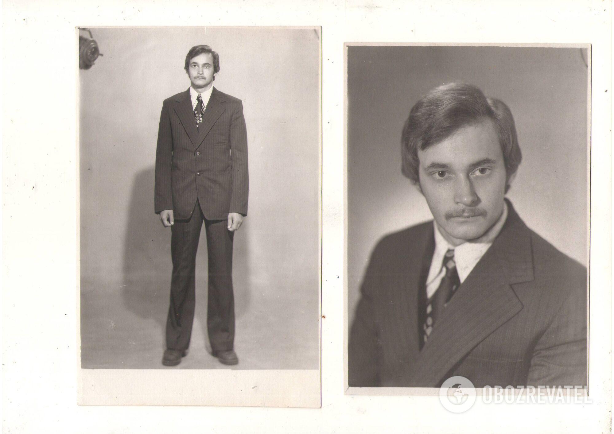 Алексей Ананенко в студенческие годы