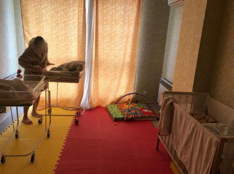 Квартира, де перебували діти
