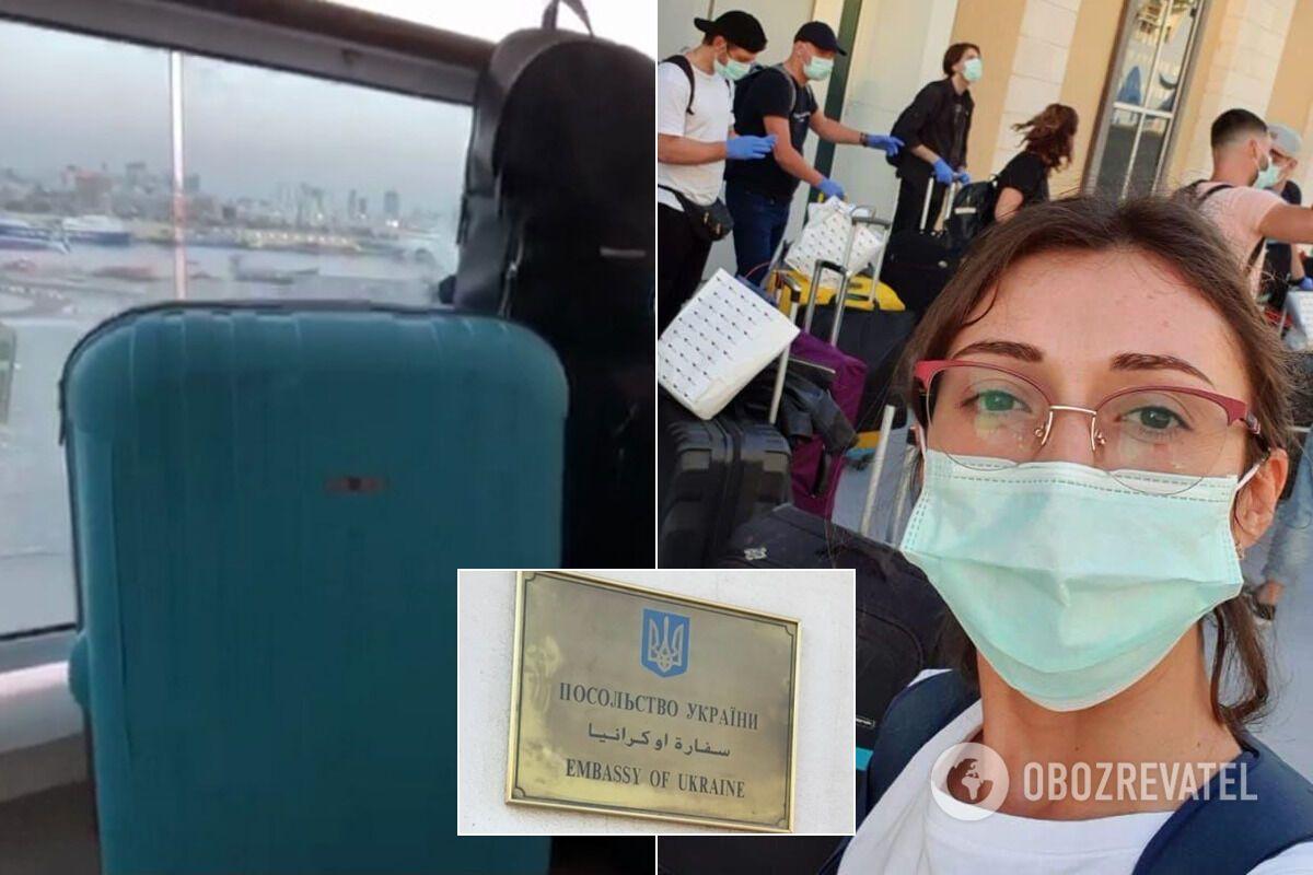 Одна из пассажирок отмененного рейса в Украину