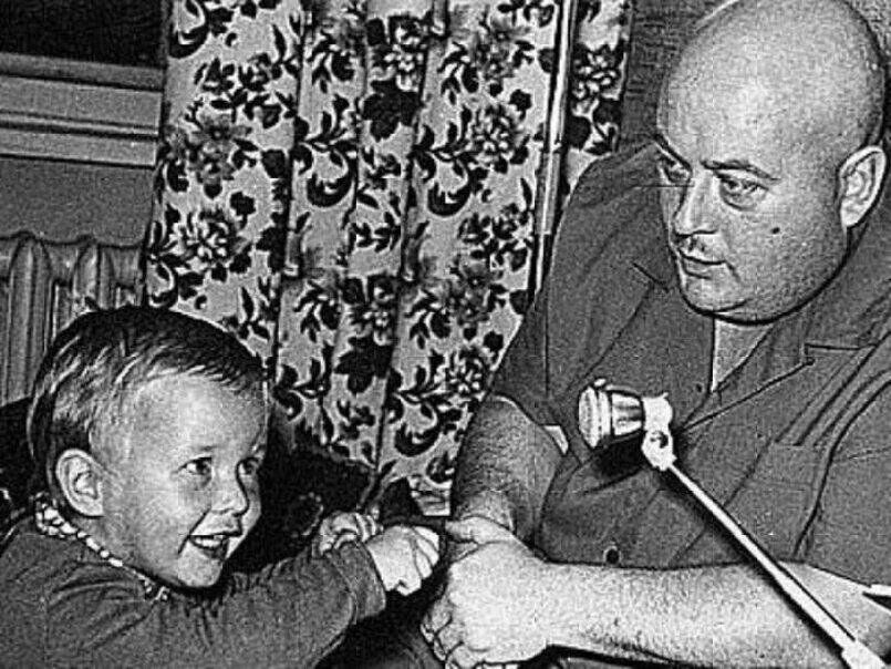 Евгений Моргунов и его сын Николай