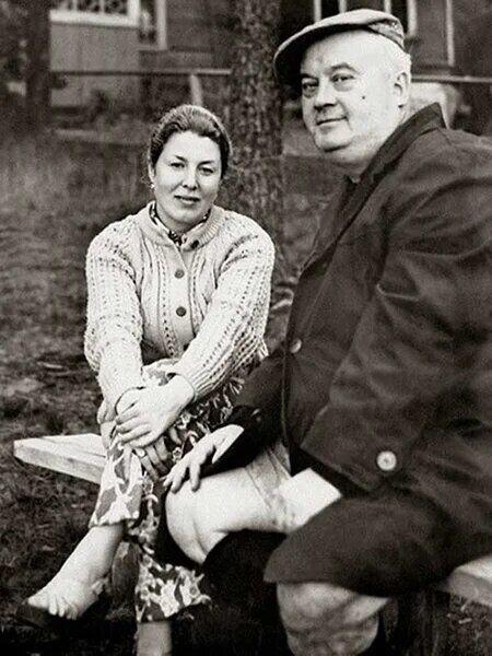 Евгений Моргунов и его жена Наталья