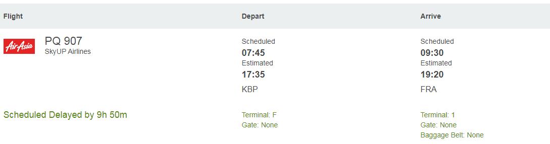 Самолет SkyUp с иностранцами и дипломатами на борту не выпускают из Украины: первые детали