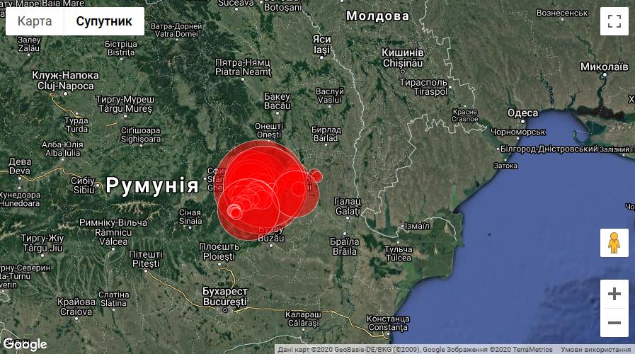 Епіцентр землетрусу