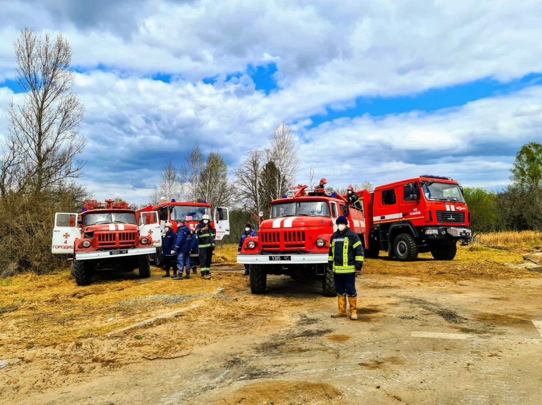 В Чернобыльской зоне ликвидировали пожары