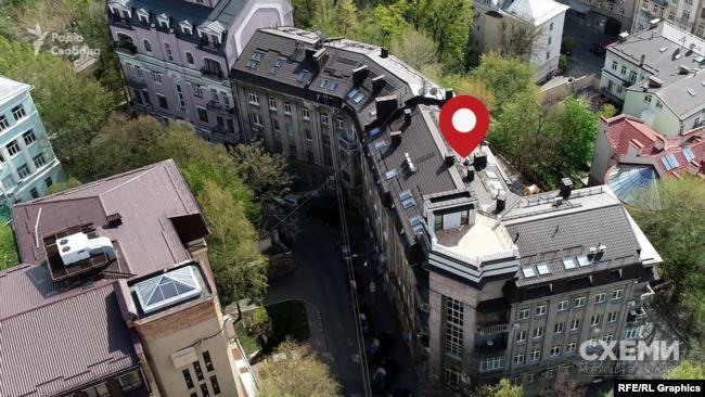 Будинок, де в Києві живе Венедіктова