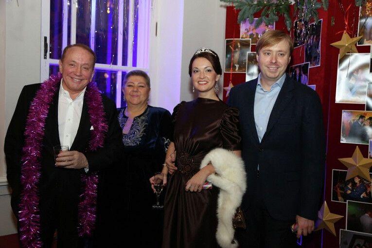 Олександр Масляков з сім'єю