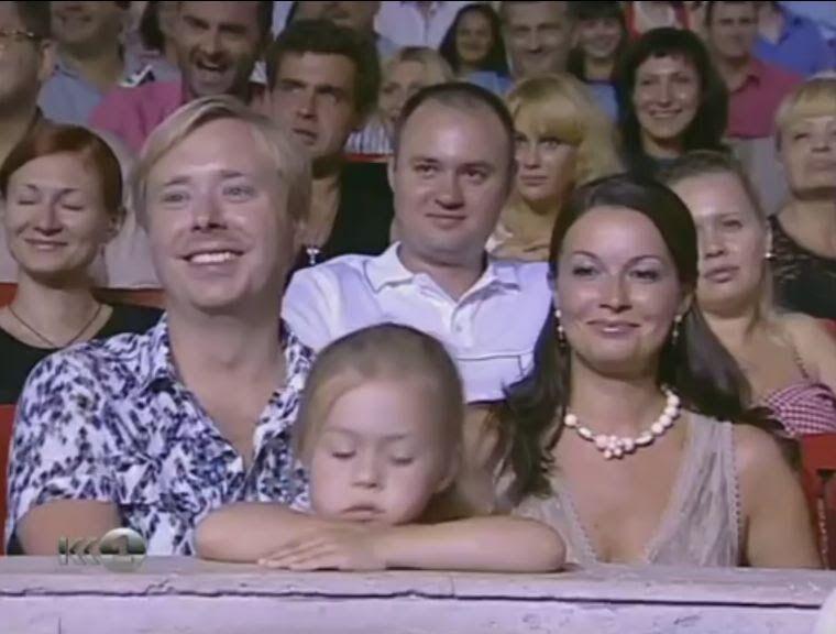 Донька Олександра Маслякова – молодшого в КВН