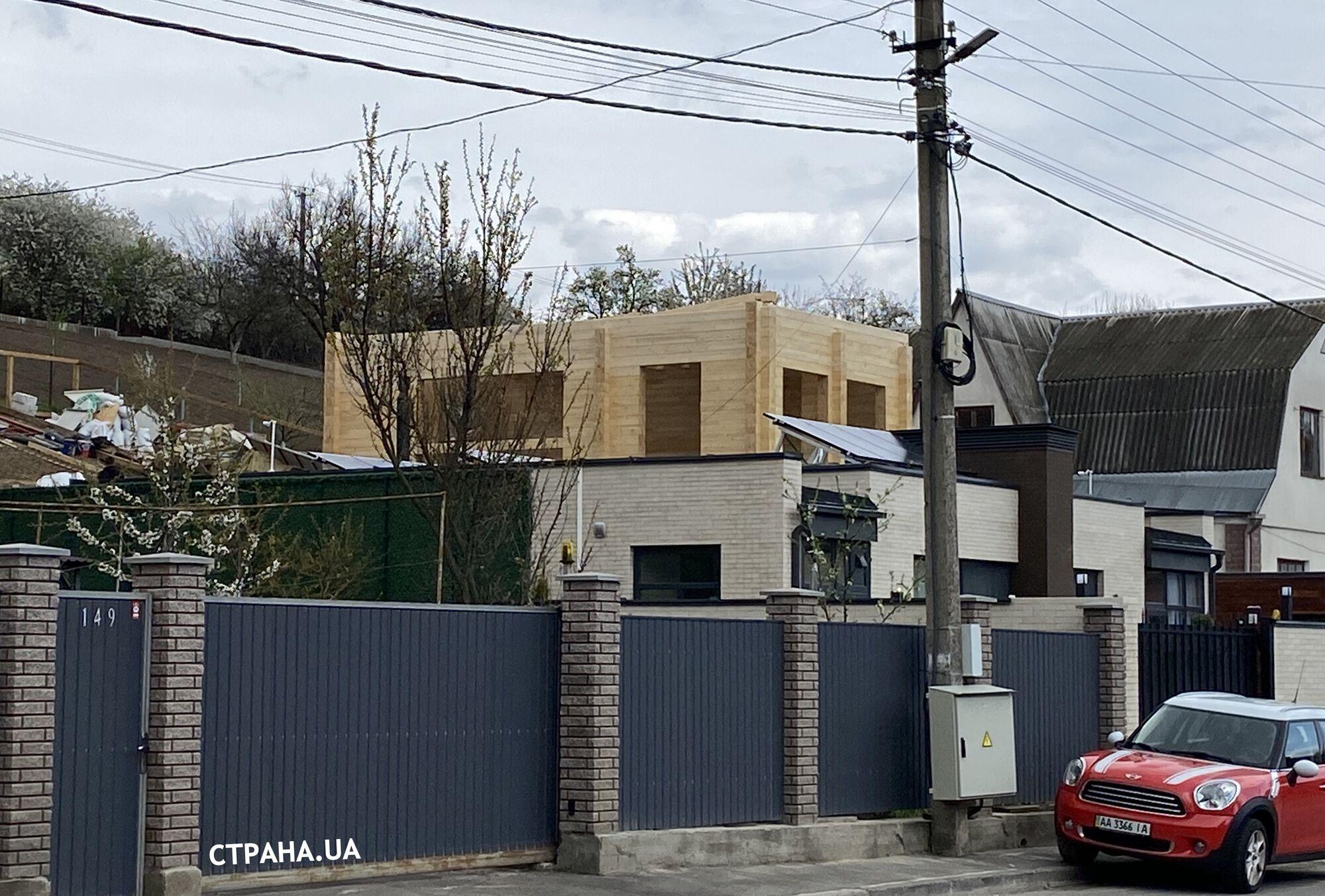 Дом Саакашвили под Киевом