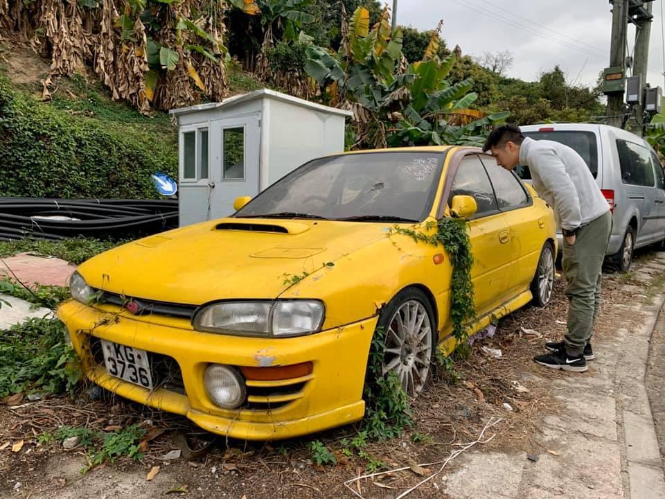 Покинута Subaru Impreza WRX