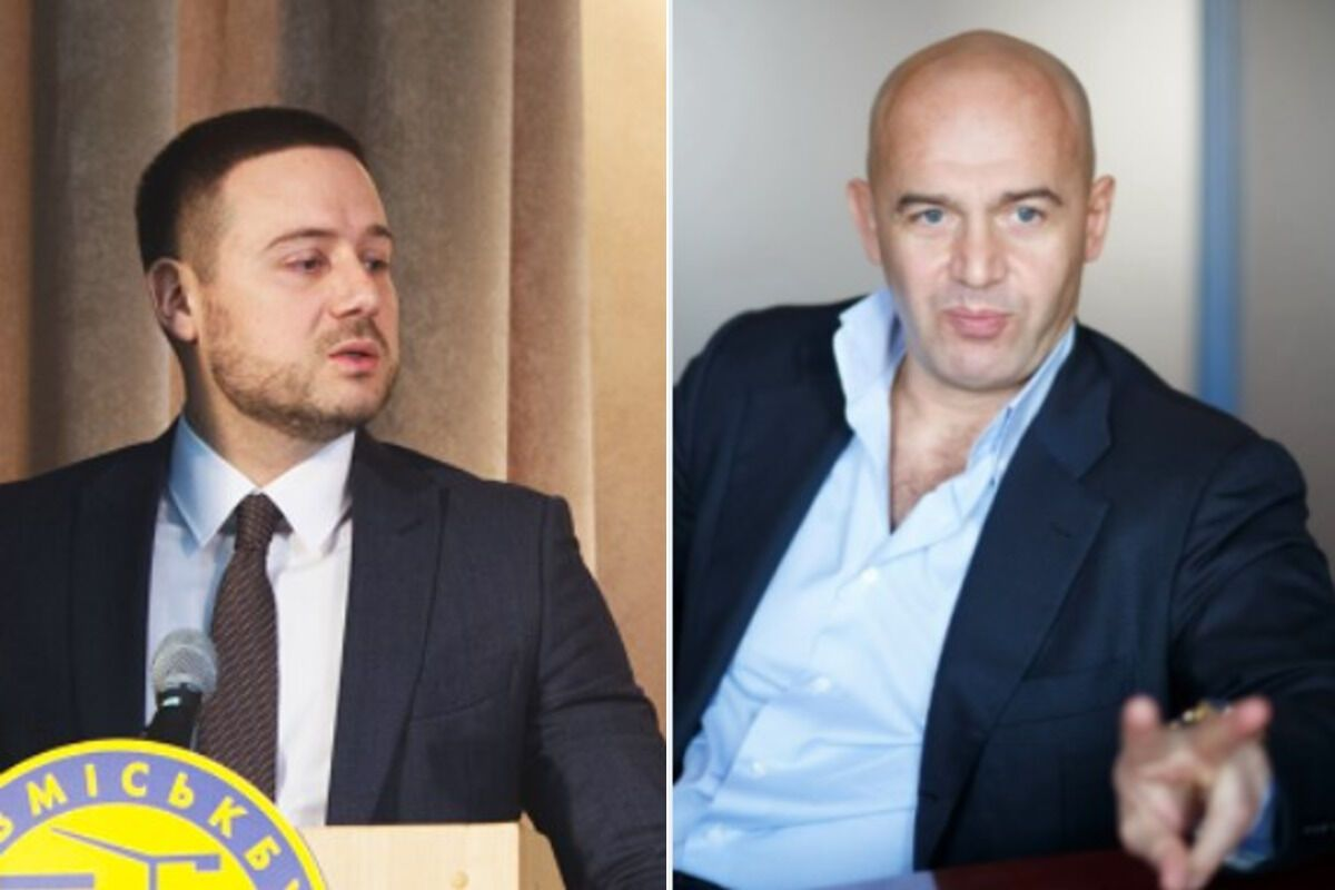 Володимир Слончак та Ігор Кононенко