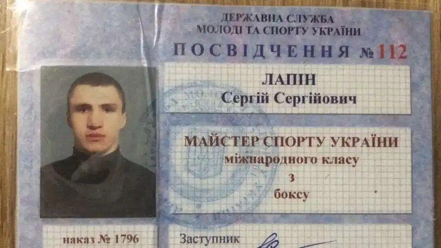 документы Сергея Лапина
