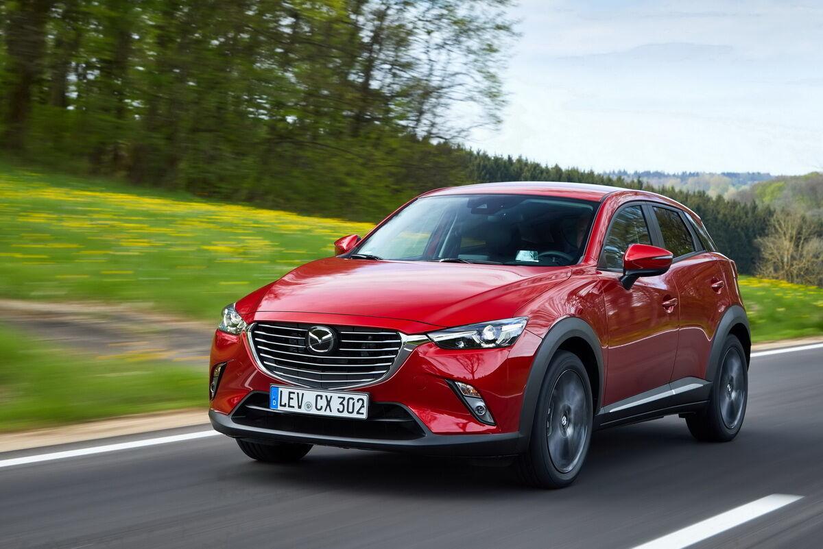 """Mazda CX-3 стала єдиним """"іноземним"""" брендом в рейтингу"""