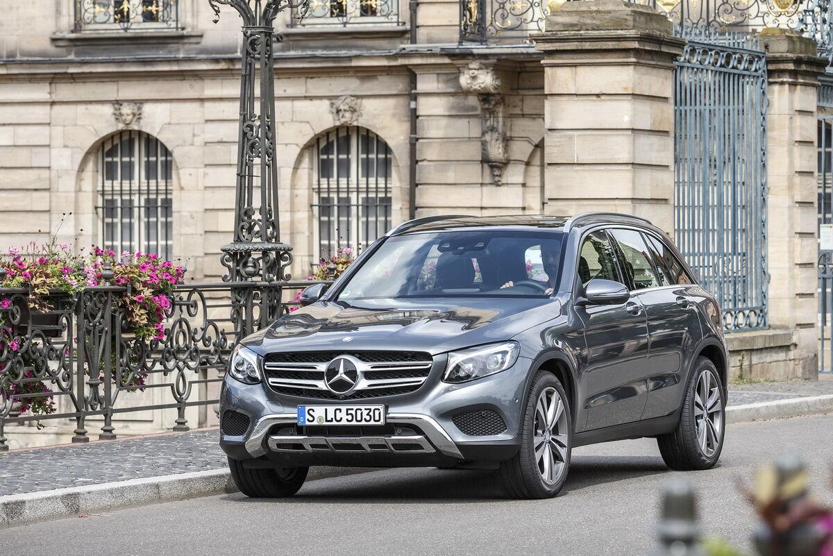 Очолив рейтинг найнадійніших авто за версією TUV компактний кросовер Mercedes-Benz GLC
