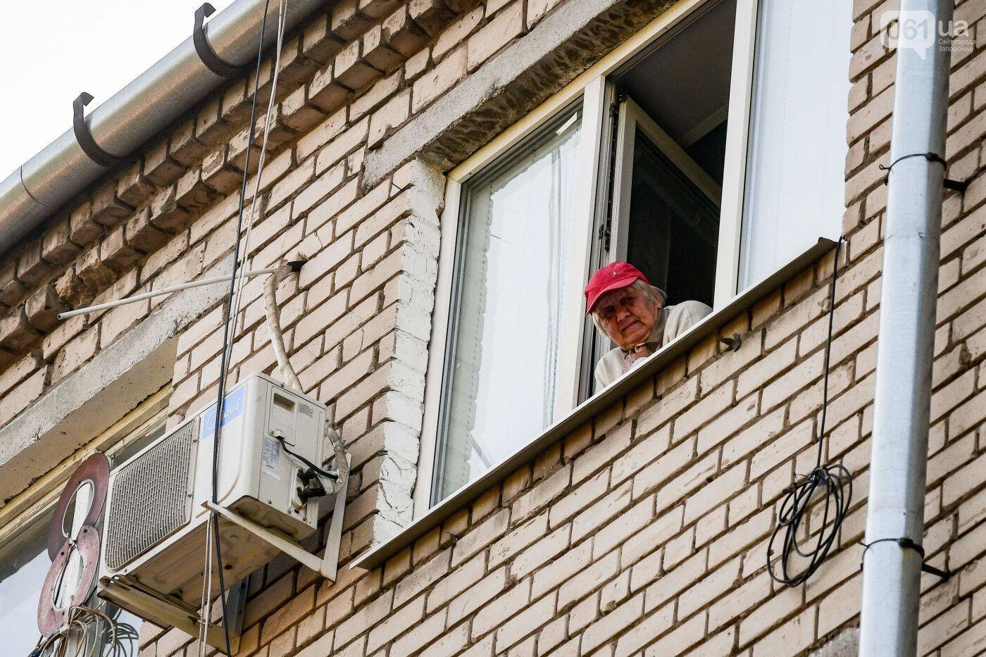 Мешканці гуртожитку в Запоріжжі: тільки й світу, що у вікні