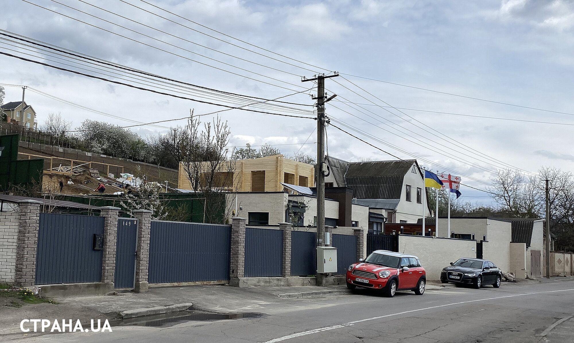 Будинок Саакашвілі в селі Лісники