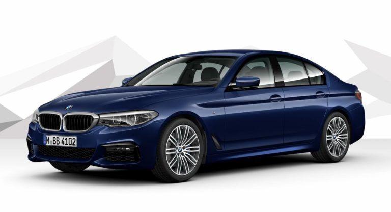 BMW 5-Series G30 в актуальній версії