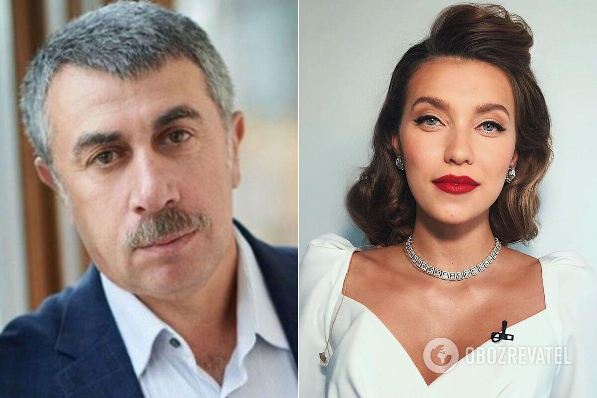 Евгений Комаровский и Регина Тодоренко