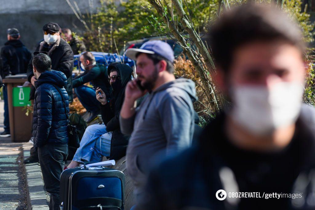 Заробитчан из Украины не выпустят