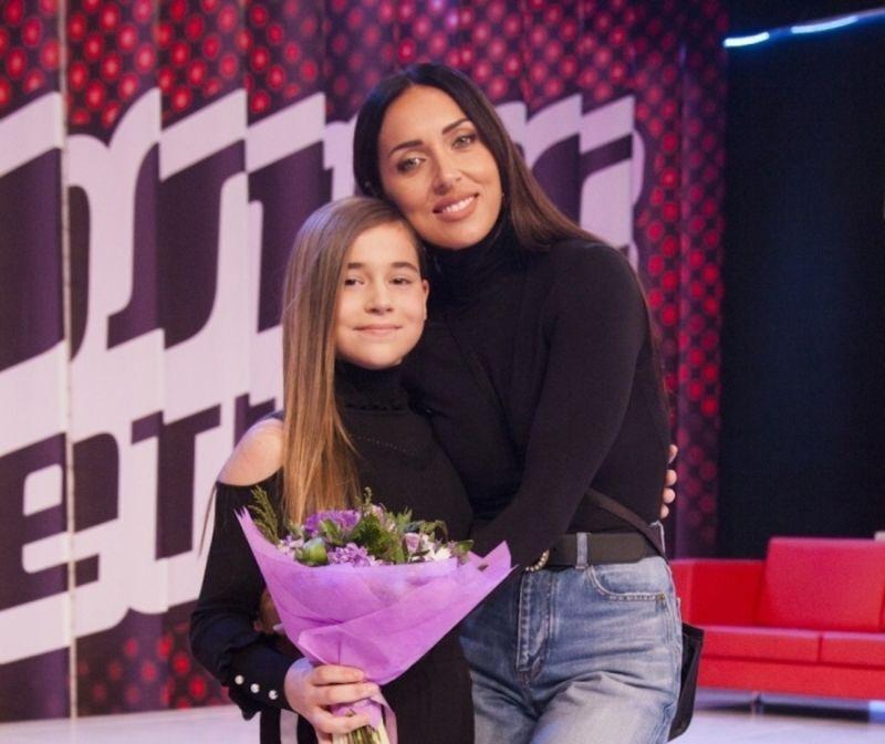 Алсу и ее дочь Микелла Абрамова