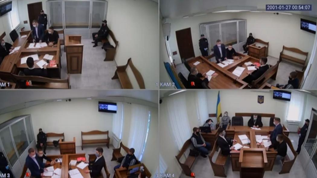 Судебное заседание по делу Слончака