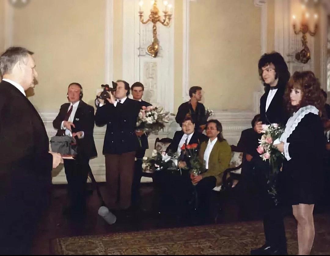 Весілля Пугачової і Кіркорова