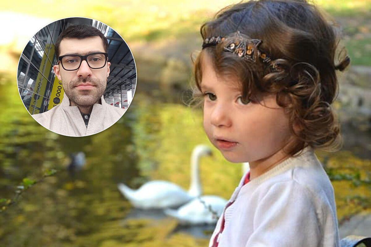 Рустам Гаджієв і його дочка Єва