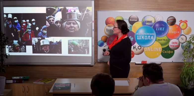 Вчителька назвала каструлі головним символом Майдану