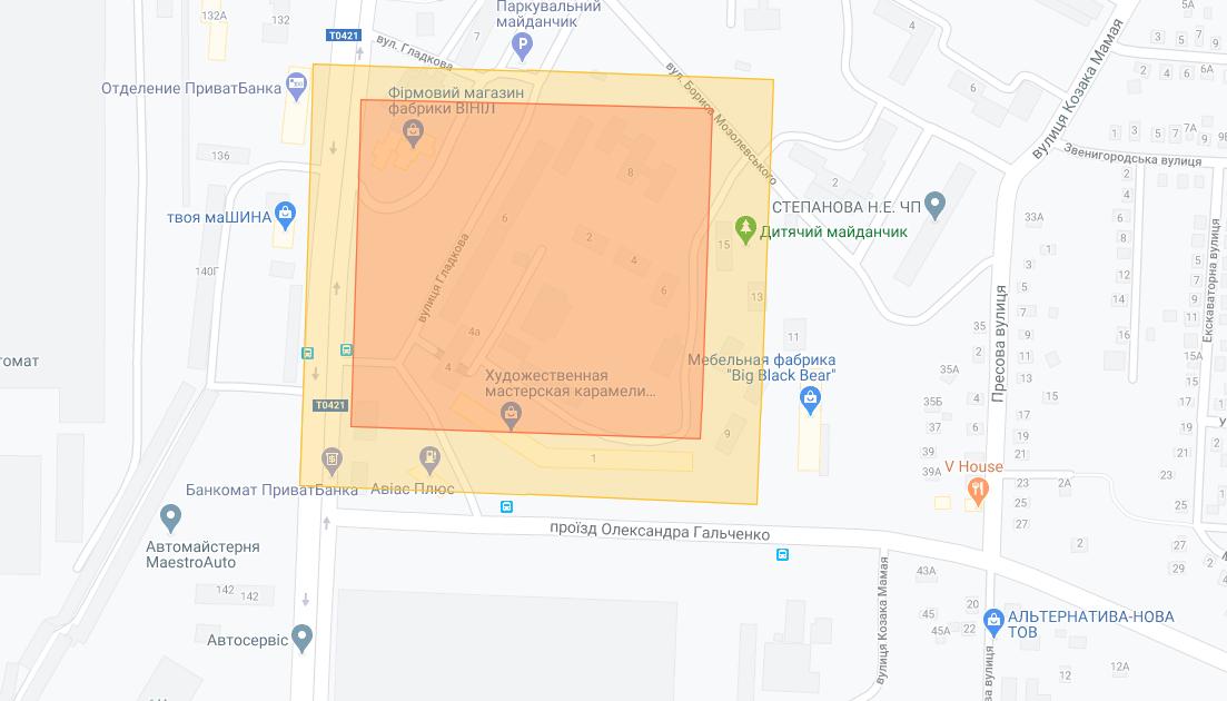 """Опубликовали карту и развесили объявления: в Днепре """"заклеймили"""" дома с больными на коронавирус"""