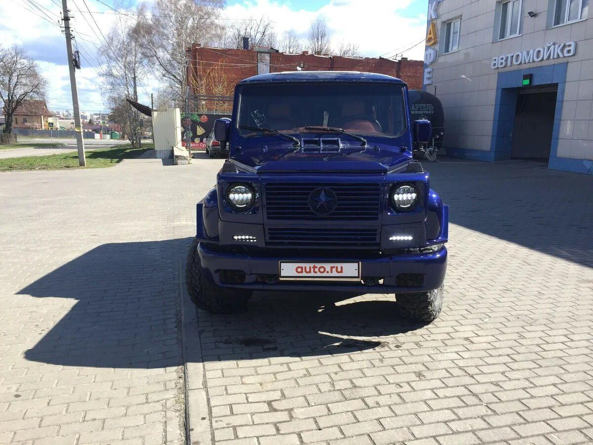 УАЗ переробили в Mercedes-Benz: фото і подробиці