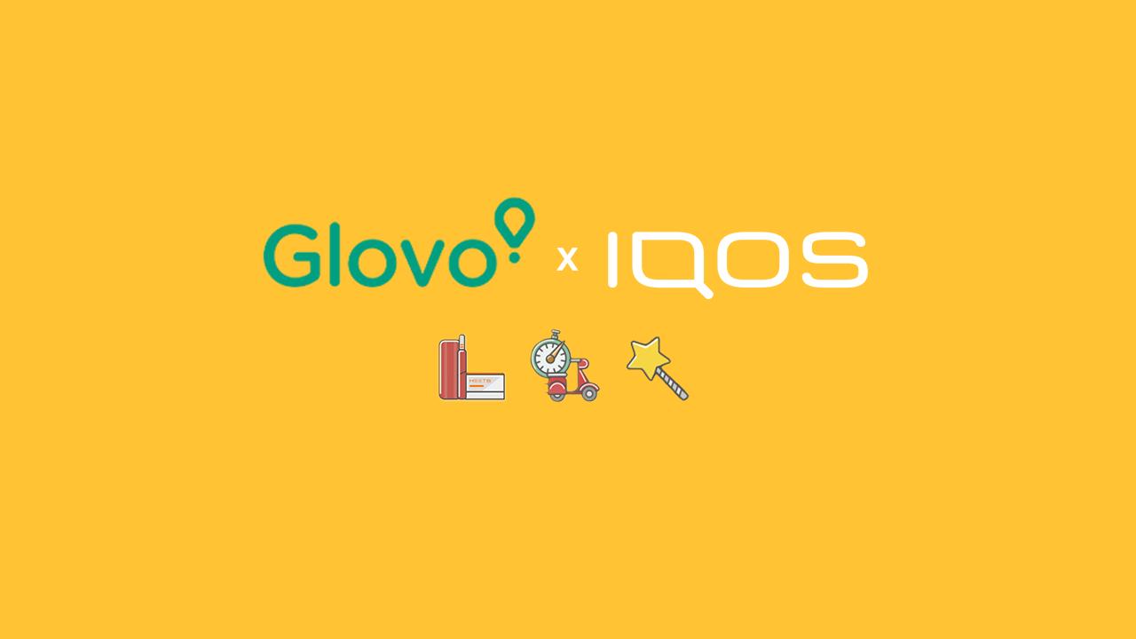 IQOS и Glovo объявили о партнёрстве