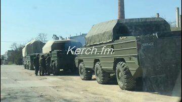 Російська військова техніка в Криму