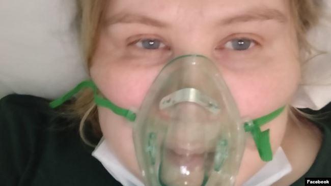 Анастасия Петрова в больнице
