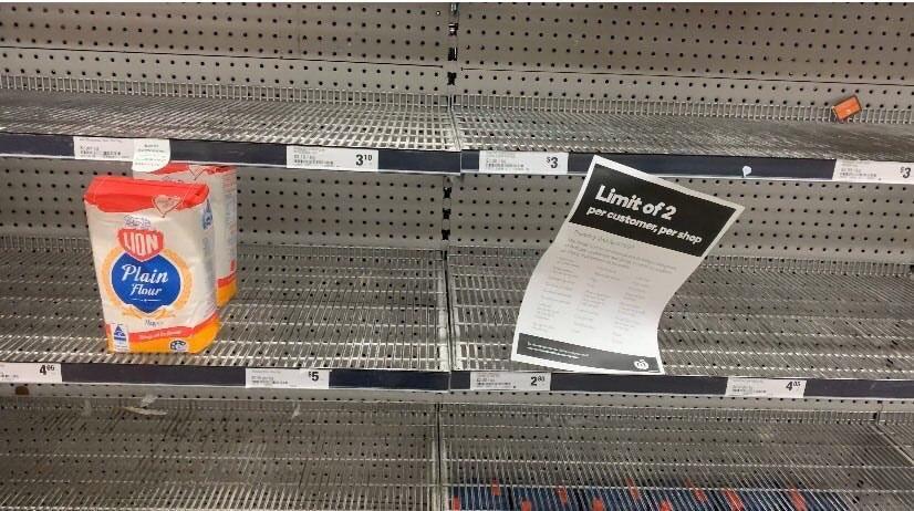 Австралийцы раскупают туалетную бумагу в супермаркетах