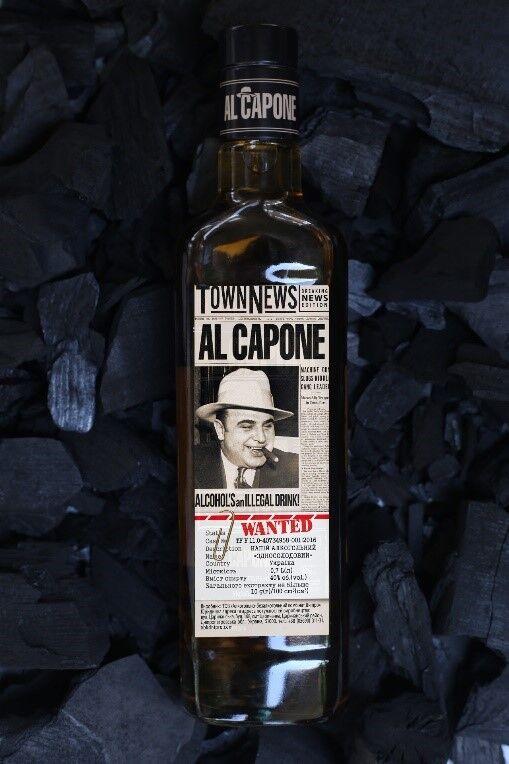 """Односолодовый алкогольный напиток """"Аль Капоне"""""""