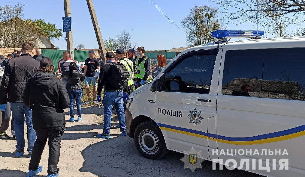 Поліція на місці злочину