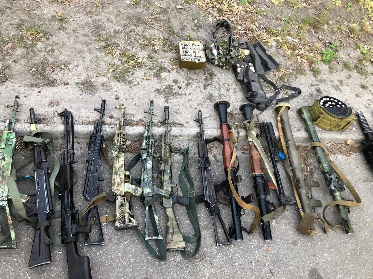 """В ОГП заявили про виявлений """"схрон"""" зброї"""