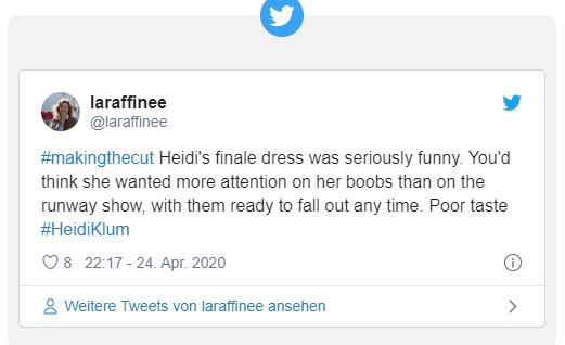 46-летняя Хайди Клум стала посмешищем в сети из-за большой груди: что произошло