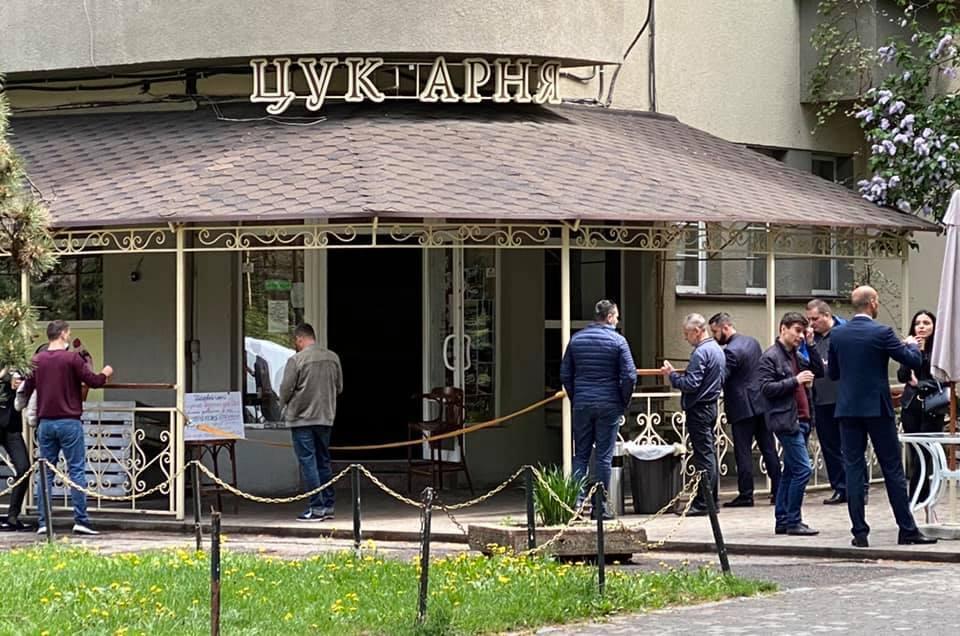 Кафе в Ужгороде