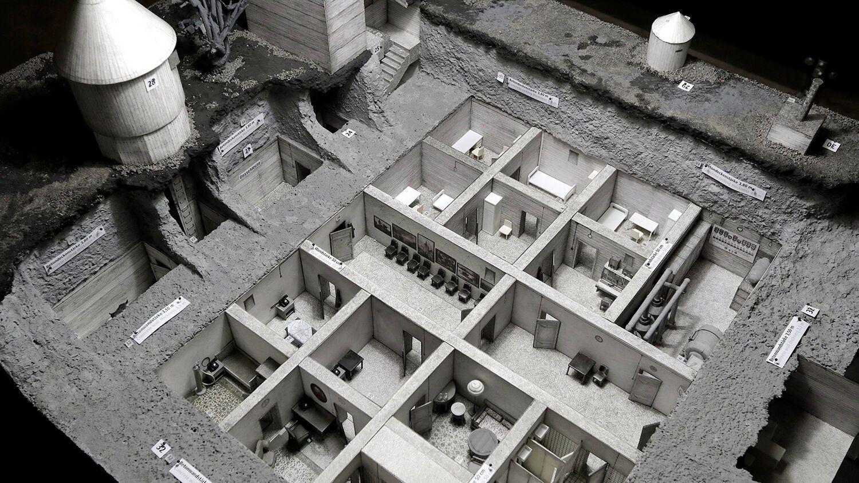 Модель бункера Гітлера