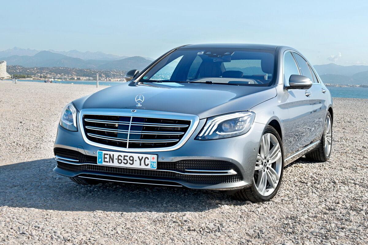 Новый флагман Mercedes-Benz покажут осенью